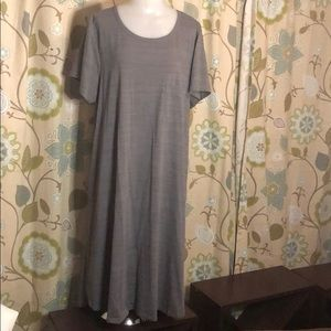 LuLaRoe Carly Heather Gray
